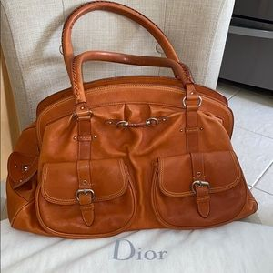 "Vintage Christian Dior ""My Dior"" large satchel bag"